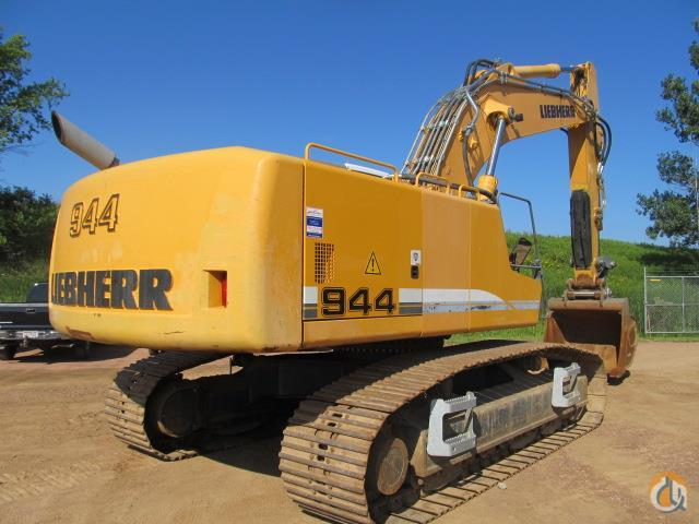 2008 LIEBHERR R944CHDSL Crawler LIEBHERR R944CHDSL American State Equipment 20259 on CraneNetwork.com